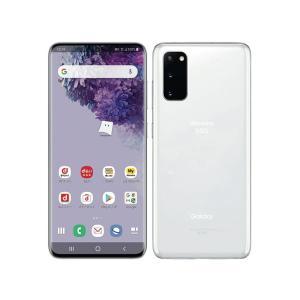 「新品 」白ロム SIMフリー Galaxy S20 5G SC-51A クラウド ホワイト ※赤ロム保証[サムソン/Samsung][docomo SIMロック解除済]|quality-shop