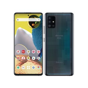 [新品 未使用品 白ロム ] SIMフリー Galaxy A51 5G SC-54A プリズム ブリックス ブラック ※赤ロム保証 [サムソン/Samsung][docomo SIMロック解除済]|quality-shop