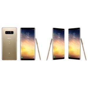 「新品 未使用品 白ロム 」 SIMフリー docomo Galaxy Note8 SC-01K maple gold メープルゴールド [ docomo SIMロック解除 ][サムソン/Samsung]|quality-shop