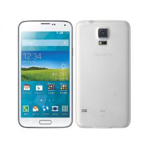 【新品未使用】利用制限〇 au GALAXY S5 SCL23 シマリーホワイト White[白ロム][Samsung/サムソン][スマホ][携帯][ギャラクシー]