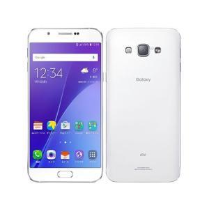 「新品 未使用品 白ロム」SIMフリー au GALAXY A8 SCV32 white ホワイト ※赤ロム保証[Samsung][au からSIMロック解除済]|quality-shop