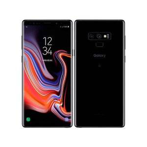 「新品 未使用品 白ロム」au SIMロック解除 Galaxy Note9 SCV40 ブラック ※赤ロム保証[サムソン/Samsung][SIMフリー]