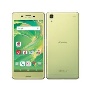 「新品・訳あり」SIMフリー docomo Xperia X Performance SO-04H lime Gold ※赤ロム保証[docomo SIMロック解除] [sony/ソニー]|quality-shop