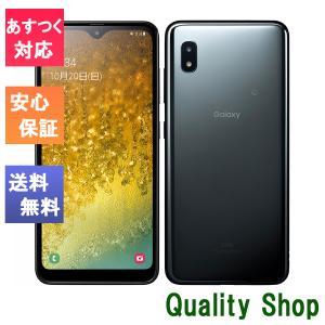 「新品 未使用品 白ロム」SIMフリー UQ版 Galaxy A20 scv46 黒 ※赤ロム保証[サムソン/Samsung][UQ mobile ]|quality-shop