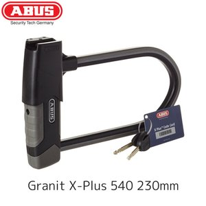 ABUS アブス Granit X-Plus 540 230mm U字ロック マウント付 鍵 ロック...