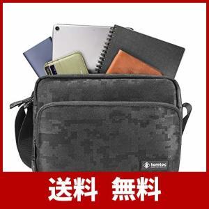 tomtoc ショルダーバッグ 斜めがけ 撥水加工 11インチ iPad Pro 2018 秋モデル...