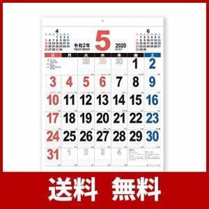 新日本カレンダー 2020年 カレンダー 壁掛け THE・文字 46 NK196