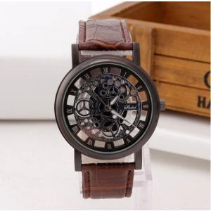 腕時計 メンズ 安い プチプラ 機械式 風 スケルトン クール かっこいい 珍しい おしゃれ ファッション 10代 20代 30代 quart2