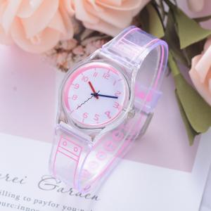 腕時計 レディース シリコンバンド 透明 クリア 珍しい 防水 安い プチプラ スポーツ quart2