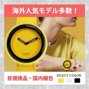 腕時計 レディース 黄色 カラフル 目立つ 蛍光色 かわいい シンプル ファッションウォッチ おしゃれ 10代 20代 安い おもしろい 珍しい quart2