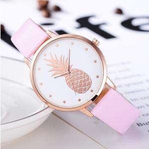 腕時計 レディース パイナップル 夏 ファッションウォッチ 安い プチプラ 1000円以下 かわいい 大きめ|quart2