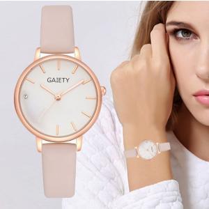 腕時計 レディース シンプル ビジネス オフィス ラインストーン キラキラ 安い プチプラ おしゃれ レザーバンド|quart2