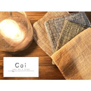 ラオス商品ブランド「Coi」大判ハンカチ|quatro-select