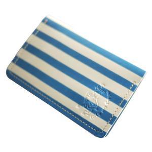 クアトロガッツ 名刺ケース ピカソ 〜青の時代〜 カードケース 本革名刺入れ