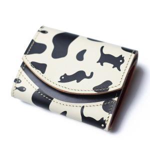 クアトロガッツ 小さいふ。 ペケーニョ ホルスタinネコ 極小財布・小さい財布