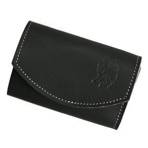 クアトロガッツ 小さいふ。 ポキート ブラックベリー 極小財布・小さい財布