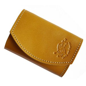クアトロガッツ 小さいふ。 ポキート キャラメル 極小財布・小さい財布