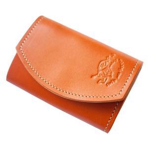 クアトロガッツ 小さいふ。 ポキート オレンジ 極小財布・小さい財布