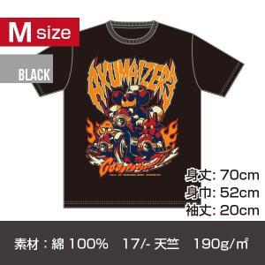 アクマイザー3 プリントT-シャツ/ブラック Mサイズ|quattroline