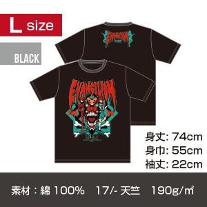 エヴァンゲリオン アスカ T-シャツ/ブラック Lサイズ|quattroline