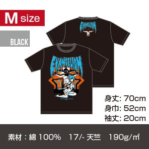 エヴァンゲリオン レイ T-シャツ/ブラック Mサイズ|quattroline