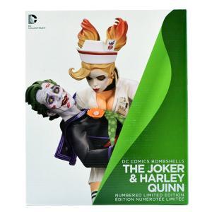 DCコミック:ボムシェルズスタチュー/ジョーカー & ハーレイ・クイン ver.1|quattroline