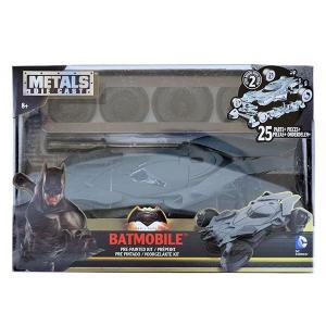 バットマン vs スーパーマン ジャスティスの誕生/ メタルズ ダイキャスト ビルド&コレクト ビークル: バットモービル 1/24 モデルキット|quattroline