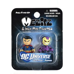 メズコトイズ DCユニバース ミニ メズイッツ スーパーマン&モングル|quattroline