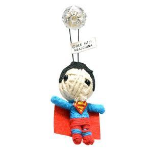 DCコミックス 2.5インチ スーパーマン ストリングドール ブードゥー人形 ポクポン|quattroline