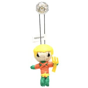 DCコミックス 2.5インチ アクアマン ストリングドール ブードゥー人形 ポクポン|quattroline