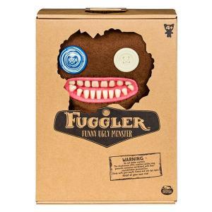 Fuggler ファグラー ぬいぐるみ(中) <Mr. Buttons_Brown>|quattroline