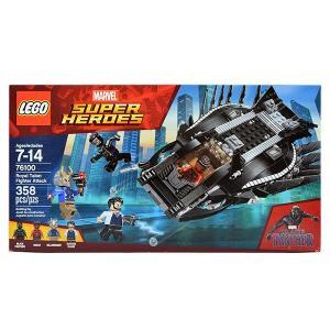 レゴ スーパーヒーローズ 76100 ブラックパンサー/ロイヤル・タロン・ファイター アタック