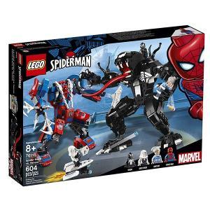 レゴ(LEGO) スパイダーマン スパイダーマン vs ヴェノム 76115|quattroline