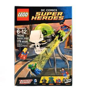 レゴ スーパー・ヒーローズ 76040 ブレイニアック アタック|quattroline