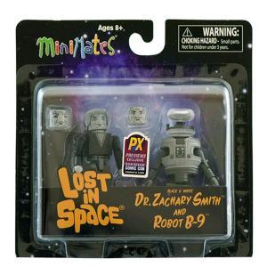 ロスト・イン・スペース Dr.スミス&B9ロボット ミニメイツ 2パック コミコン限定カラー|quattroline