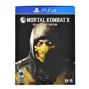 モータルコンバットX コレクターズエディション/PlayStation 4 北米版 quattroline