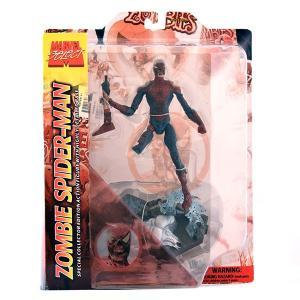 マーベルセレクト マーベルゾンビーズ ゾンビースパイダーマン アクションフィギュア|quattroline