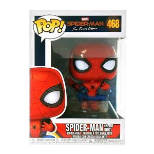 ファンコ/スパイダーマン ファー フロム ホーム/スパイダーマン(ヒーロースーツ) POP!  ビニルボブルヘッド #468|quattroline