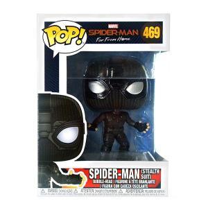 ファンコ/スパイダーマン ファー フロム ホーム/スパイダーマン(ステルススーツ) POP!  ビニルボブルヘッド #469|quattroline