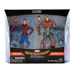 『スパイダーマン:ホームカミング』6インチ「レジェンド」2パック スパイダーマン&アイアンマン・マーク47|quattroline