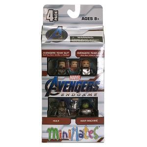 マーベル/アベンジャーズ エンドゲーム/ミニメイツ ボックス4体セット|quattroline