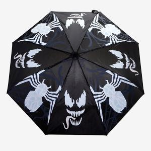 マーベル/ヴェノム 折りたたみ傘( 雨天時柄変)|quattroline
