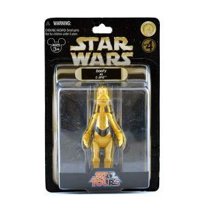 海外ディズニーパーク限定フィギュア/グーフィー(C-3PO)|quattroline