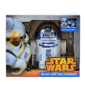 STAR WARS R2-D2 USB 車載充電器 (iPhon, iPad, Androido対応) quattroline