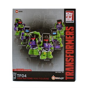 トランスフォーマー Kids Nations TF04 デバステーター(コンストラクティコンズ6体セット)|quattroline