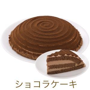 チョコケーキをチョコスポンジでサンドし、チョコクリームを塗りチョコレートパウダーをかけて仕上げました...