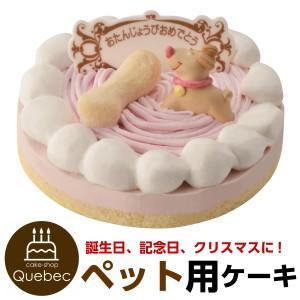 ペットケーキ 記念日ケーキ ストロベリー ペット用ケーキ 誕生日ケーキ バースデーケーキ