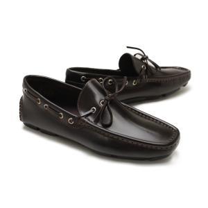 ▼特徴  素足で履きたいイタリア製ドライビングシューズ。  アッパーは、上質で柔らかなレザーを採用。...