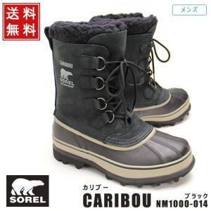 ソレル SOREL 靴 メンズ ブーツ CARIBOU カリブー NM1000-014 ブラック (NM1000-014,BK)  【送料無料!】 グレー ダークブラウン ブラック|queen-classico
