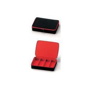 ★2868 カラフルコレクションBOX 01ブラックレッド★|queen-shop